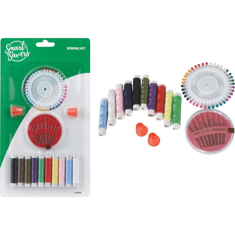 Smart Savers 14-Piece Travel Sewing Kit Image 1