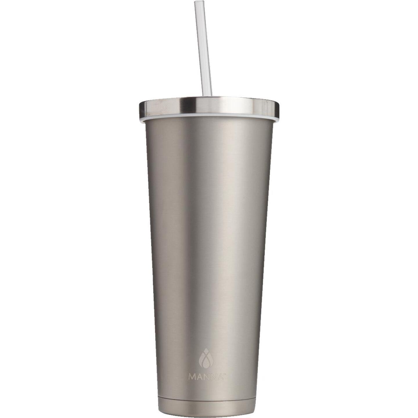 Manna 24 Oz. Stainless Steel Chilly Insulated Tumbler Image 1