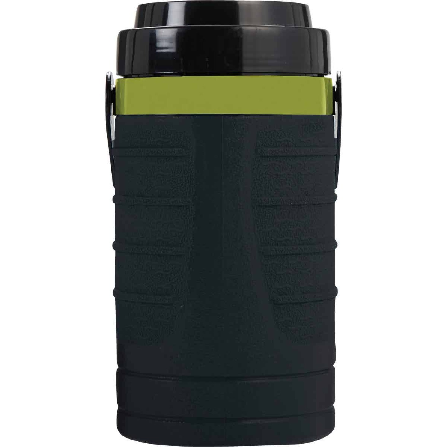 Manna 64 Oz. Black Foam Insulated Bottle Image 1