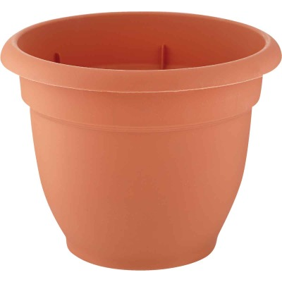 Bloem Ariana 8.8 In. H x 8 In. Dia. Plastic Self Watering Terracotta Planter