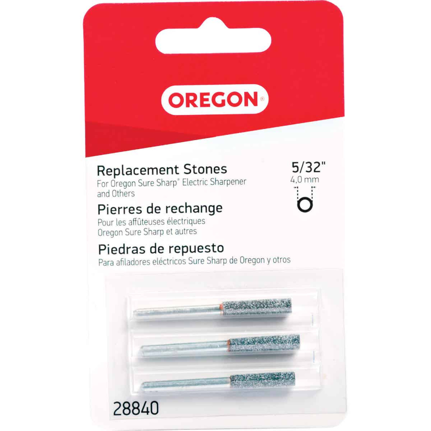 Oregon 5/32 In. Replacement Grinding Stones (3 Count) Image 1