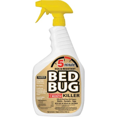 Harris 5-Minute 32 Oz. Ready To Use Trigger Spray Egg & Resistant Bedbug Killer