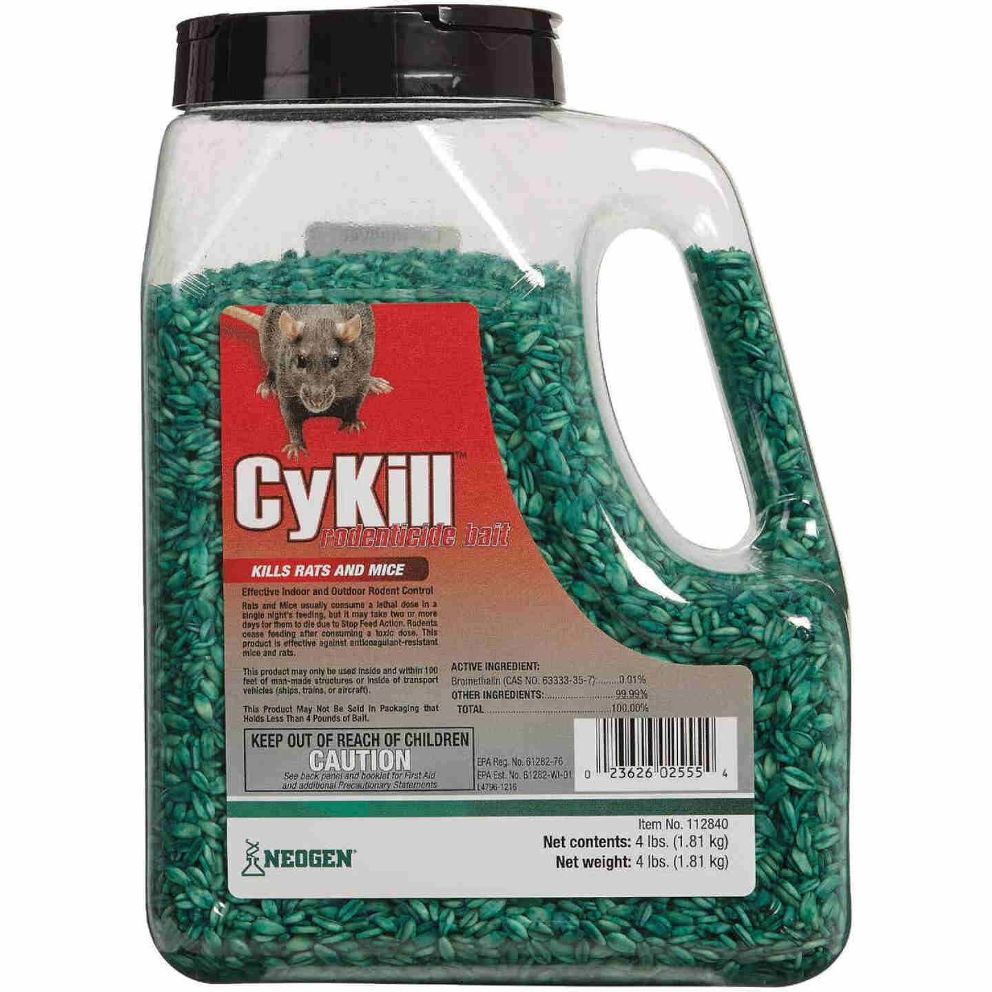 CyKill Seed Meal Bait Rat And Mouse Poison, 4 Lb. Image 2