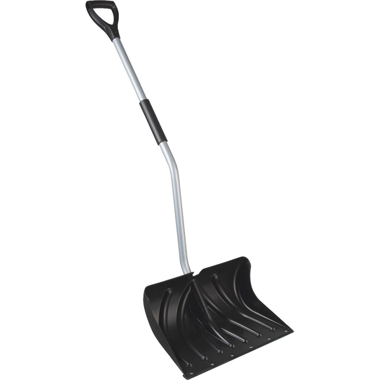 20 In. Poly Ergo Snow Shovel with 45 In. Steel Handle Image 1