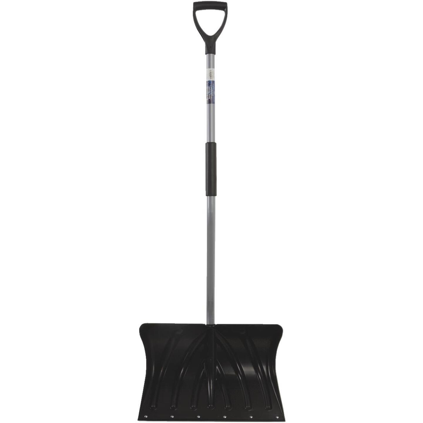 20 In. Poly Ergo Snow Shovel with 45 In. Steel Handle Image 3