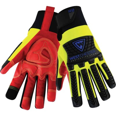 West Chester Protective Gear R2 Performance Series Men's Medium Synthetic Work Glove