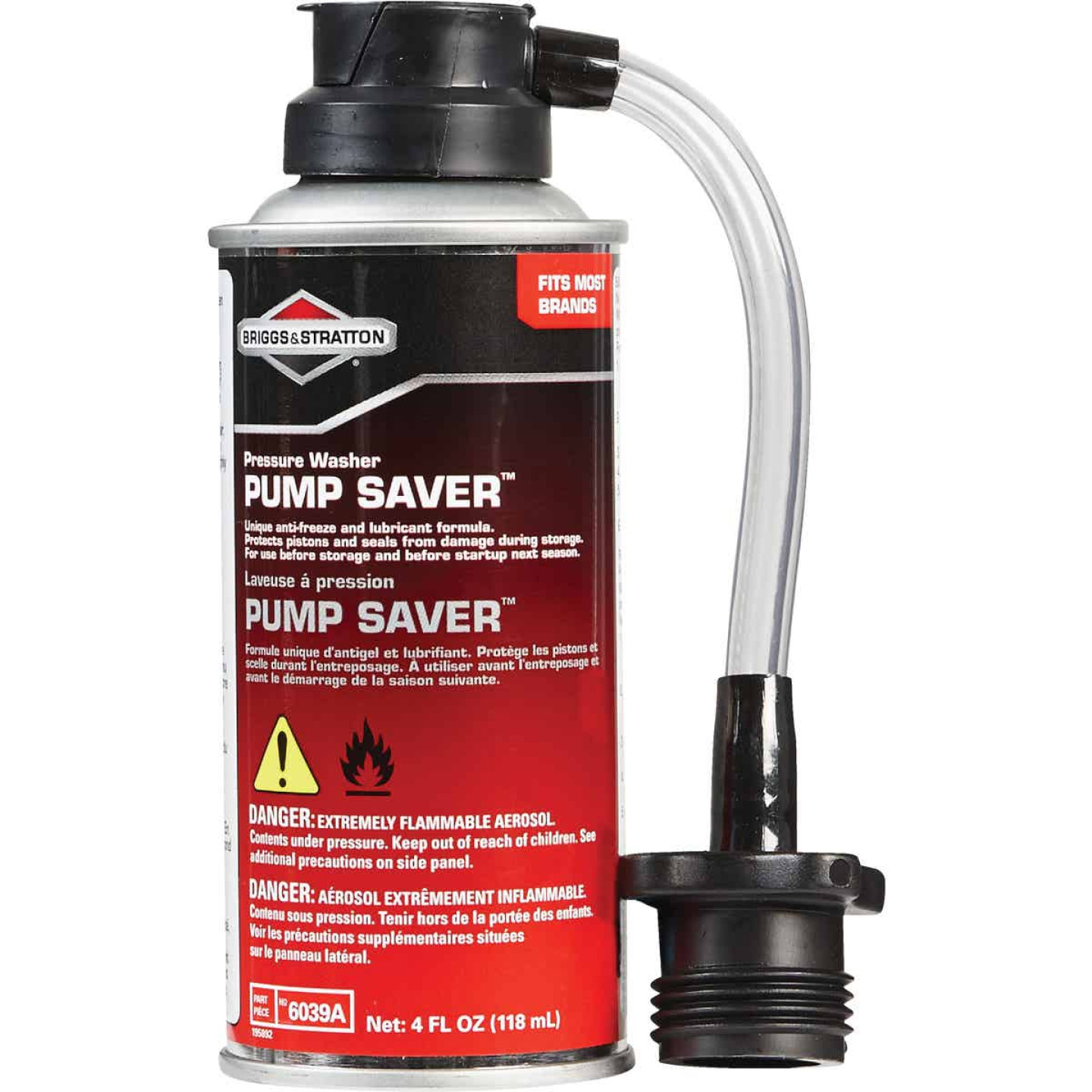 Briggs & Stratton Pump Saver 4 Oz. For Pressure Washer Image 1