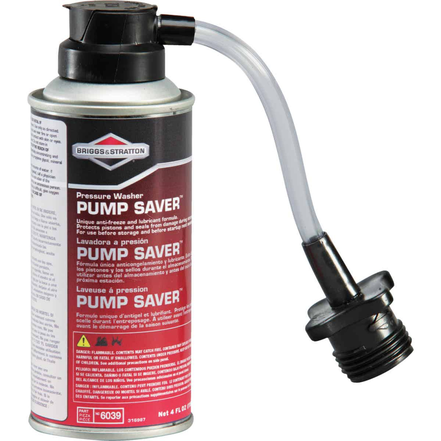 Briggs & Stratton Pump Saver 4 Oz. For Pressure Washer Image 3
