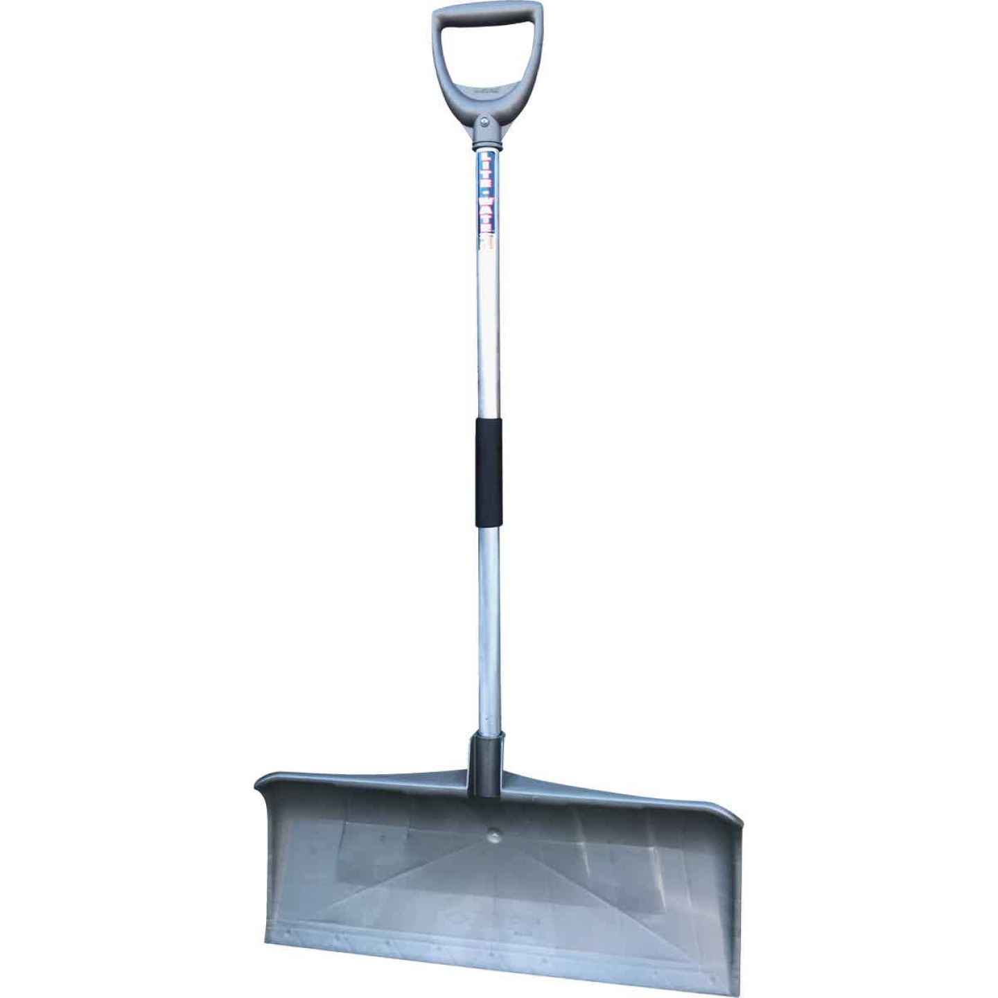 Rugg PathMaster Ultra Lightweight 27 In. Poly Snow Pusher with 36 In. Aluminum Handle Image 1