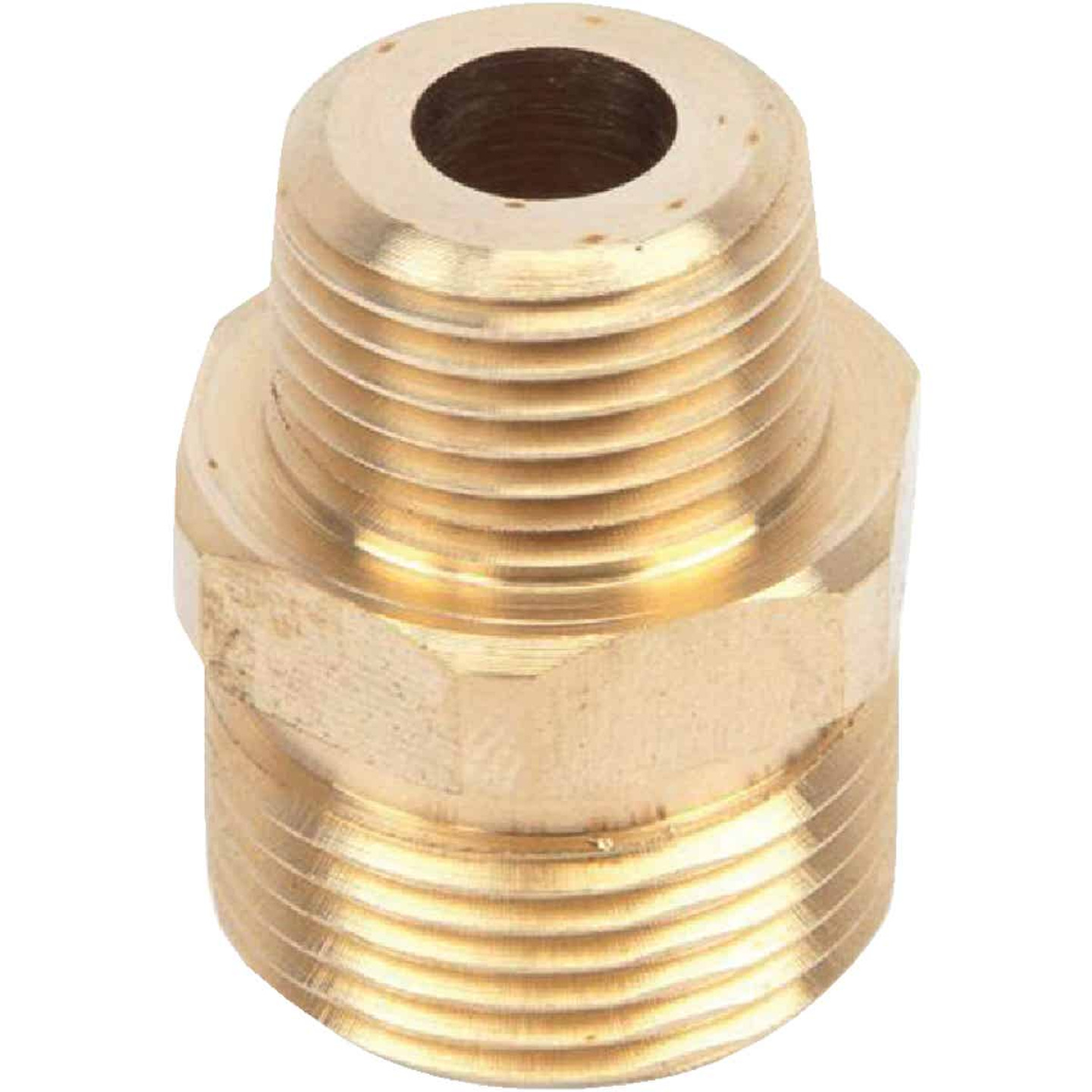 Forney 3/8 In. Male Pressure Washer Screw Nipple Image 3