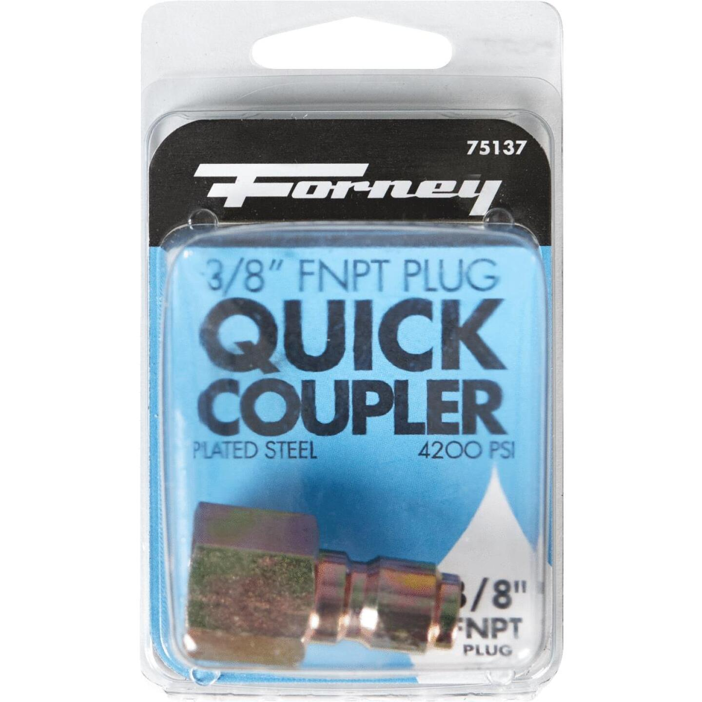 Forney 3/8 In. Female Quick Connect Pressure Washer Plug Image 2