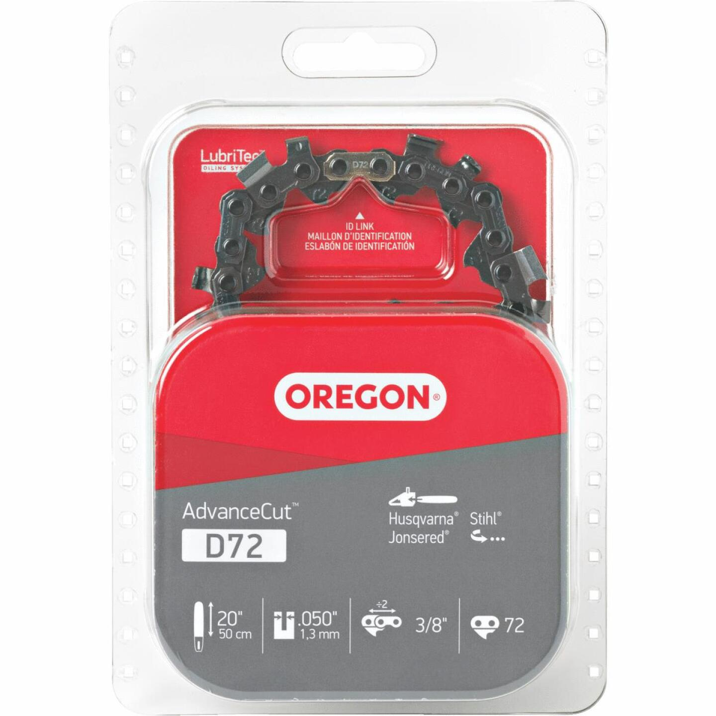 Oregon D72 20/21 In. Chainsaw Chain Image 1
