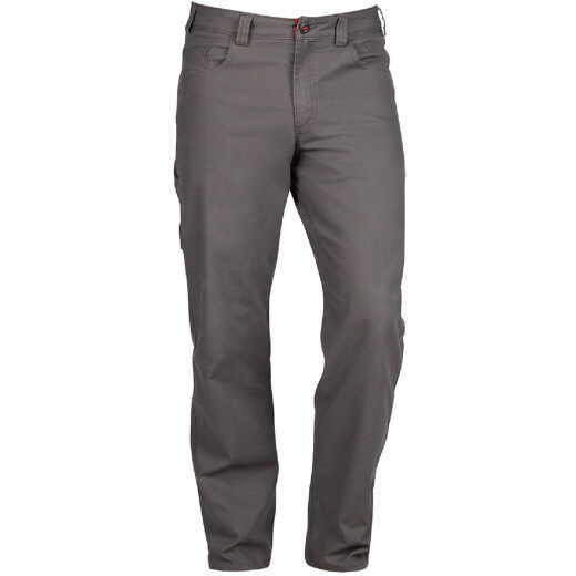 Milwaukee Flex Gray 30 x 34 Heavy-Duty Work Pants
