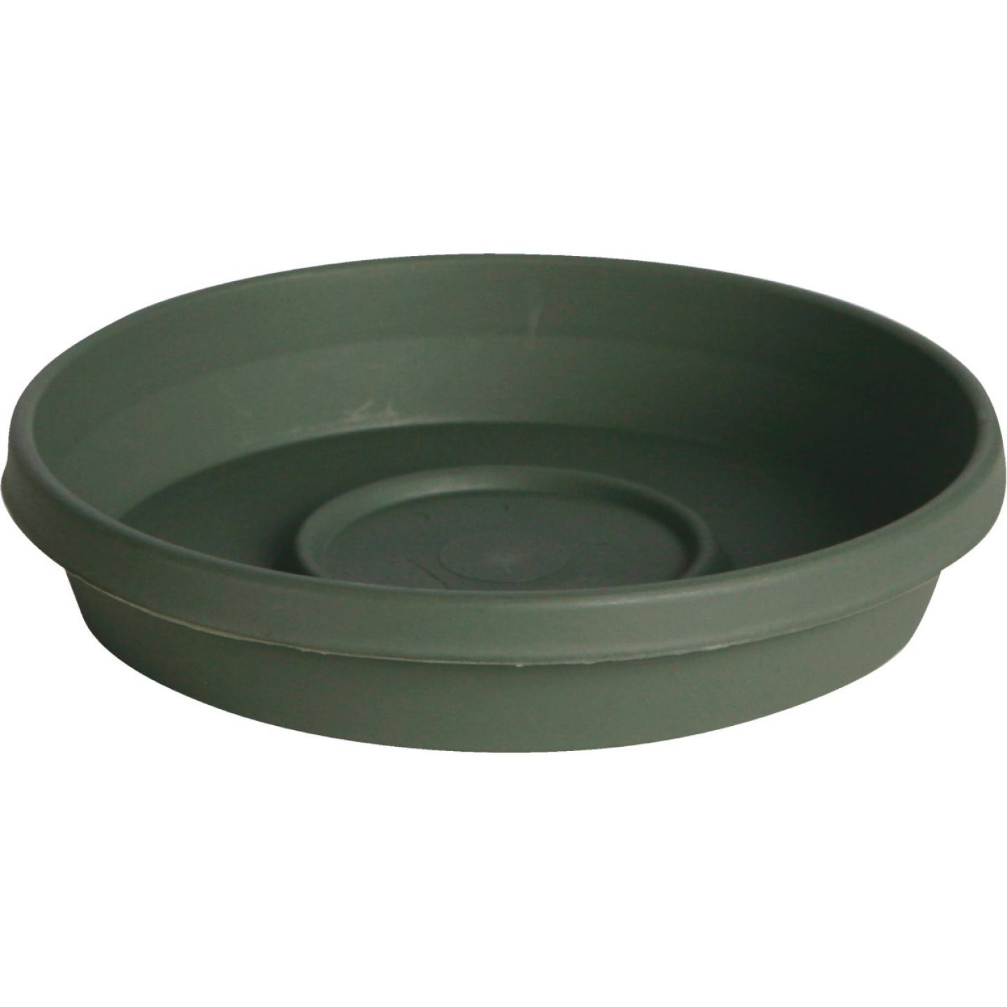 Bloem Terra Living Green 8 In. Plastic Flower Pot Saucer Image 1