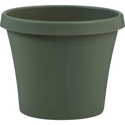 Bloem Terra Living Green 10.67 In. H. x 12 In. Dia. Polypropylene Planter