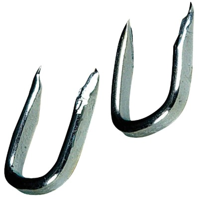 Hillman Anchor Wire 5/8 In. 14 ga Blued Fence Staple (6 Ct., 1.5 Oz.)