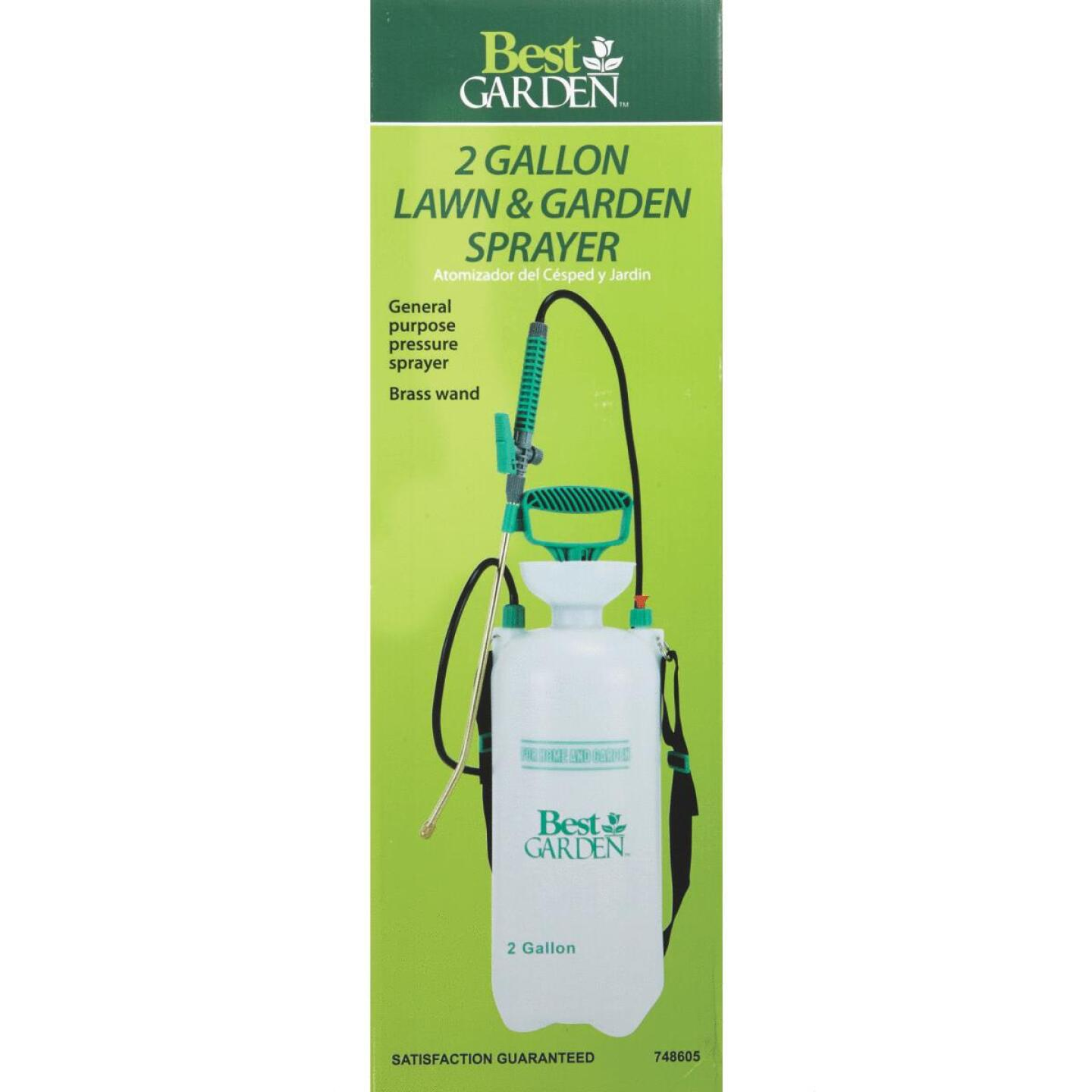 Best Garden 2 Gal. Tank Sprayer with Brass Wand Image 2