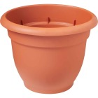 Bloem Ariana 13.75 In. H. x 16 In. Dia. Plastic Self Watering Terracotta Planter Image 1