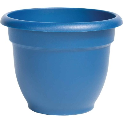 Bloem Ariana 16 In. Plastic Self Watering Classic Blue Planter