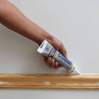 GE Painter's Pro 5.5 Oz. White Siliconized Acrylic Latex Caulk Image 1