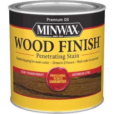Minwax Wood Finish Penetrating Stain, Jacobean, 1/2 Pt.