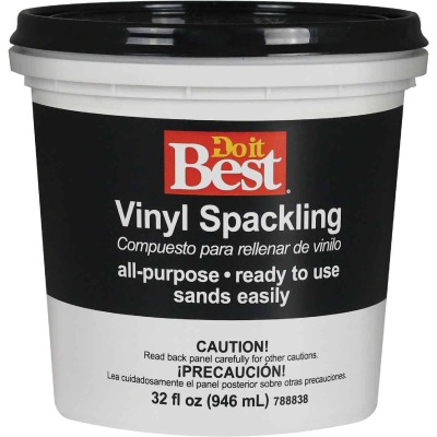 Do it Best 1 Qt. General Purpose Vinyl Spackling Paste