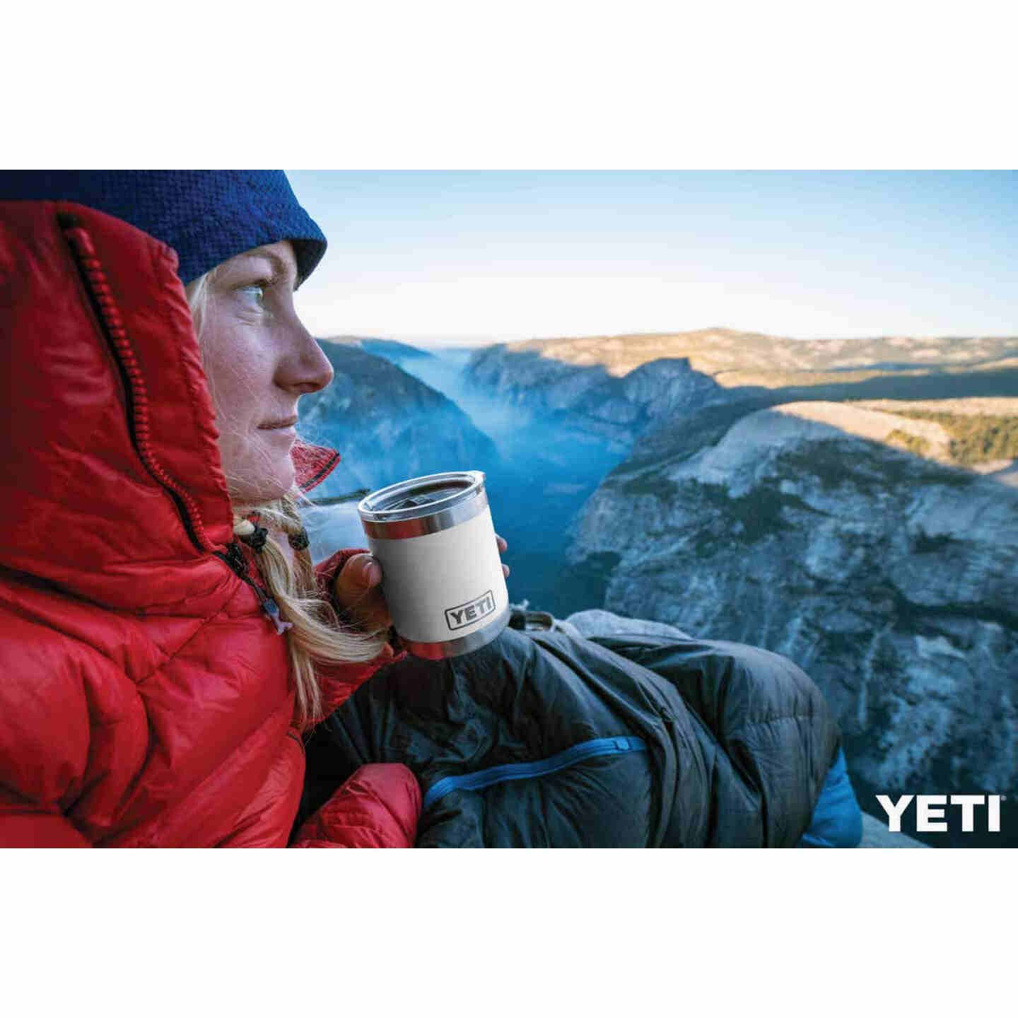 Yeti Rambler Lowball 10 Oz. White Stainless Steel Insulated Tumbler Image 2