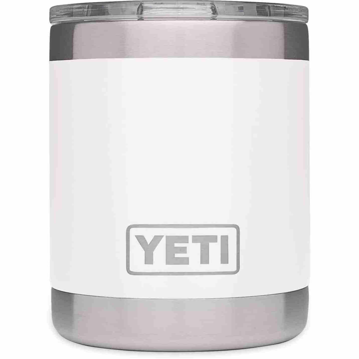 Yeti Rambler Lowball 10 Oz. White Stainless Steel Insulated Tumbler Image 3