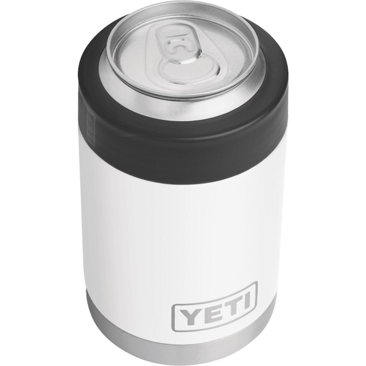 Yeti Rambler Colster 12 Oz. White Stainless Steel Insulated Drink Holder Image 2