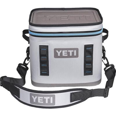 Yeti Hopper Flip 12, 13-Can Soft-Side Cooler, Gray