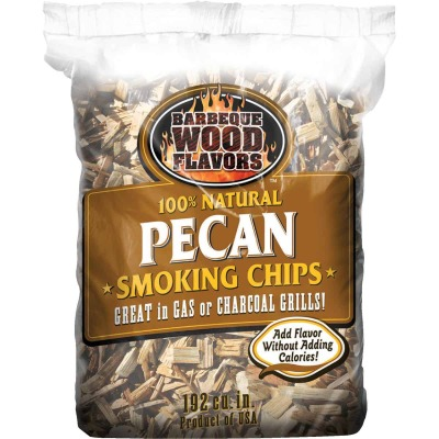 Barbeque Wood Flavors 192 Cu. In. Pecan Smoking Chips