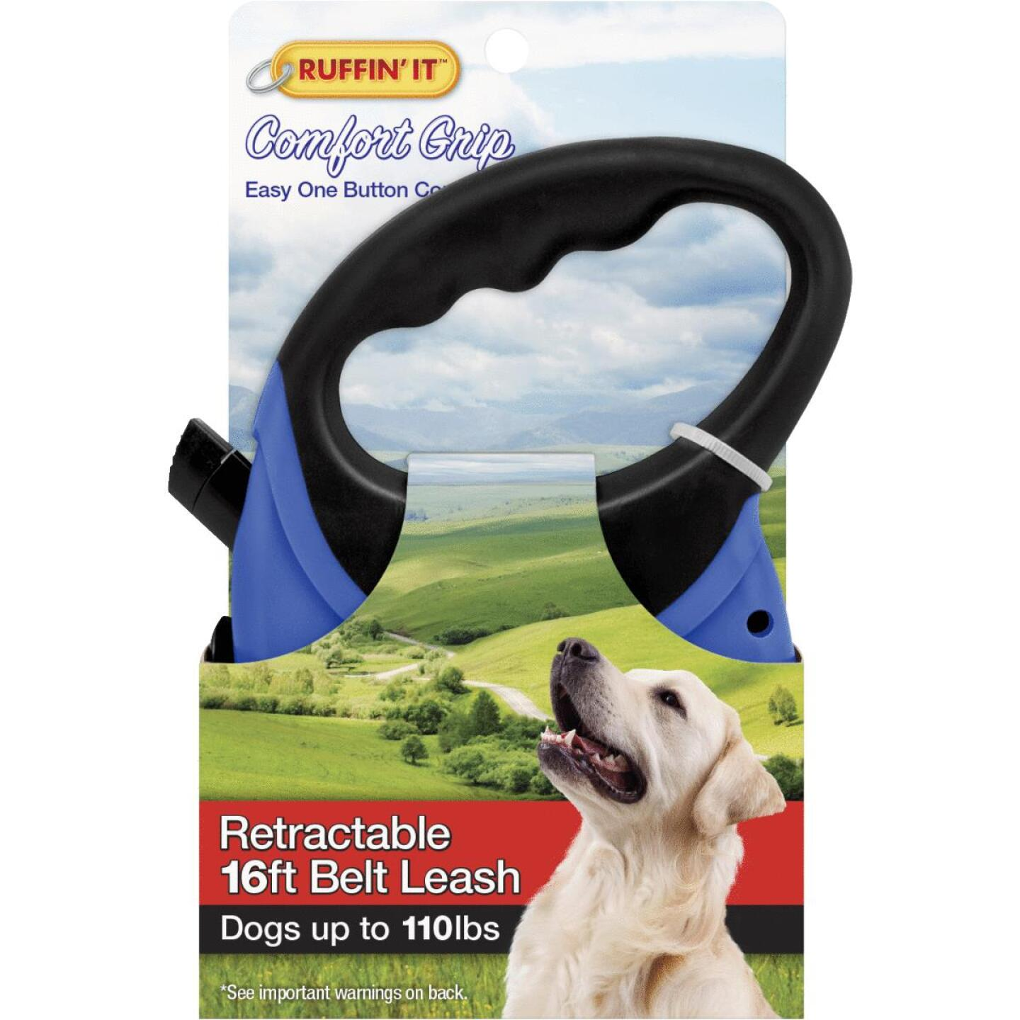Westminster Pet Ruffin' it Up to 110 Lb. 16 Ft. Cord Retractable Leash Image 1