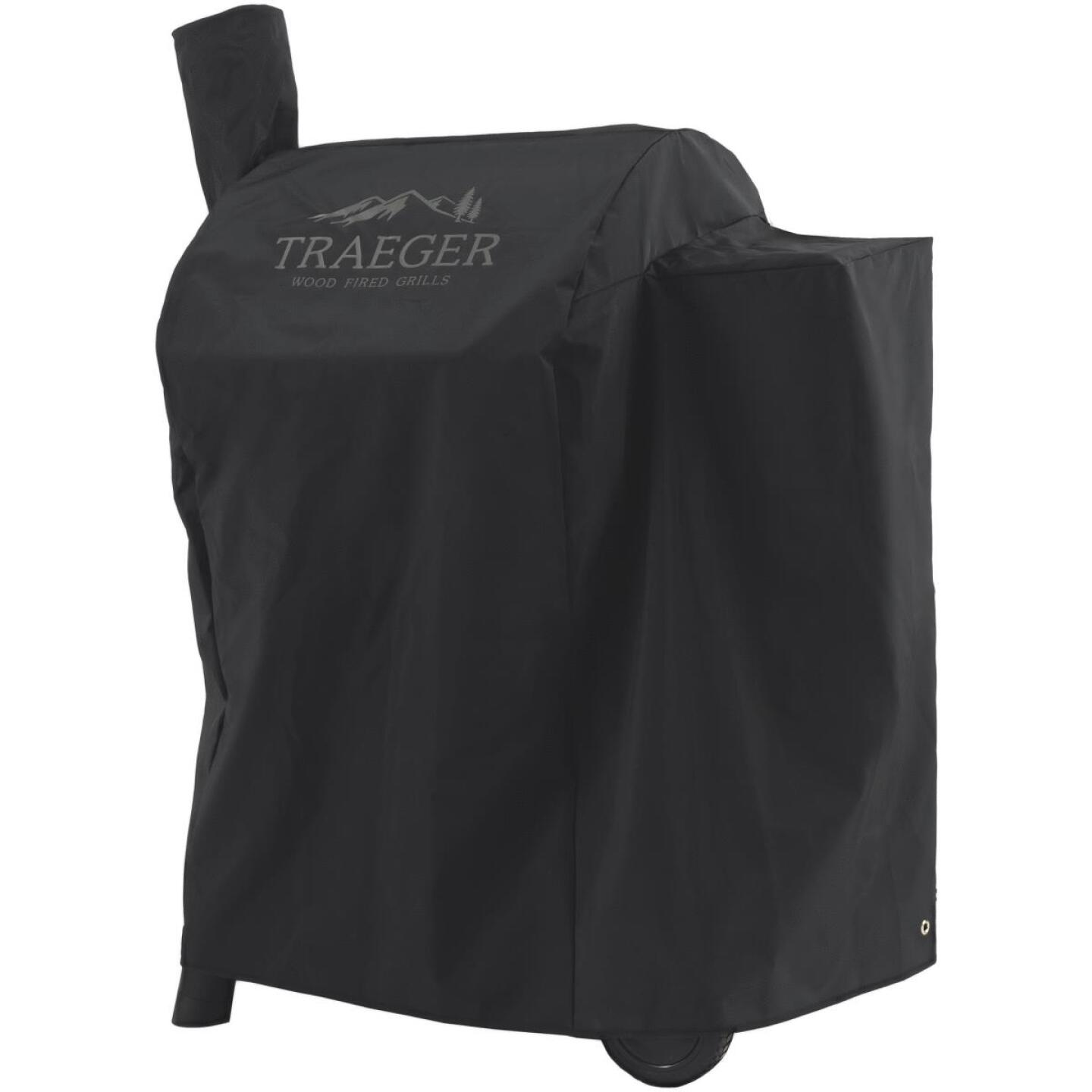 Traeger Pro 575 35 In. Black Polyester Grill Cover Image 1