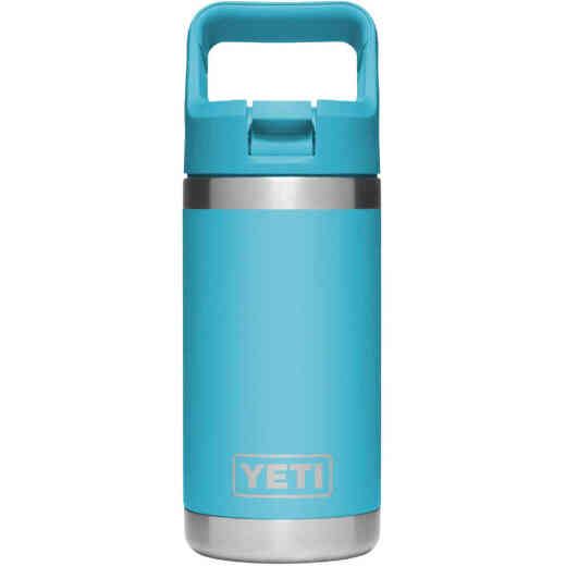 Yeti Rambler Jr 12 Oz. Reef Blue Stainless Steel Insulated Tumbler