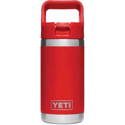 Yeti Rambler Jr 12 Oz. Canyon Red Stainless Steel Insulated Tumbler