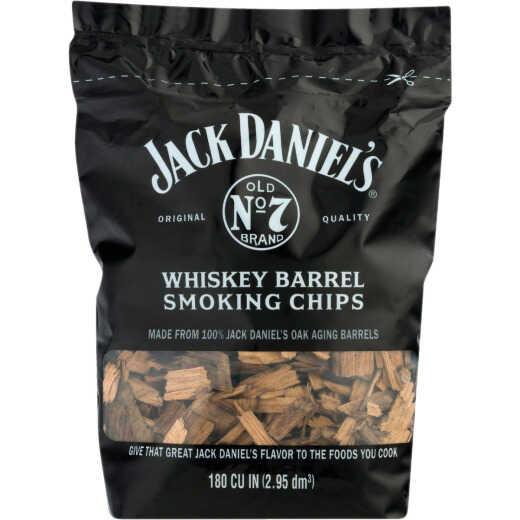 Jack Daniels 180 Cu. In. Whiskey Barrel Wood Smoking Chips