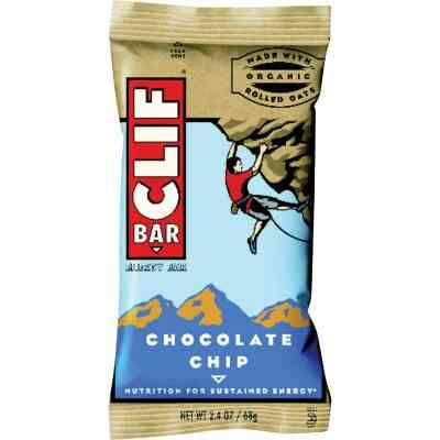 Clif Bar Chocolate Chip 2.4 Oz. Energy Nutrition Bar