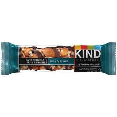 Kind Dark Chocolate, Nuts, & Sea Salt 1.4 Oz. Nutrition Bar